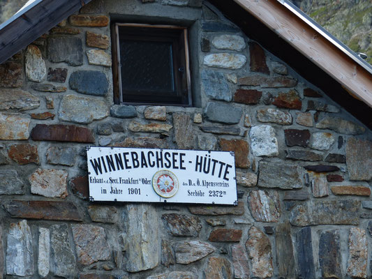 Winneseebachhütte früher Sektion Frankfurt (Oder), jetzt Sektion Hof