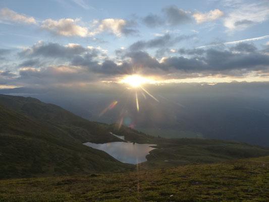 Sonnenaufgang am Watles