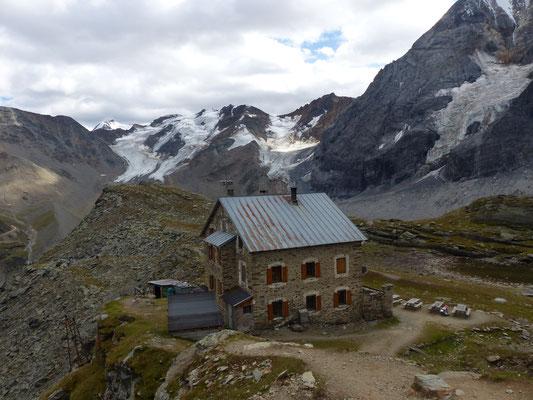 Hintergrathütte 2661hm über Sulden