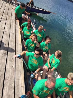 Drachenbootrennen Helenesee - die PfeffiDrachen