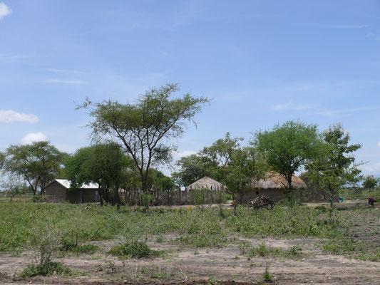 Masaidorf in Tansania