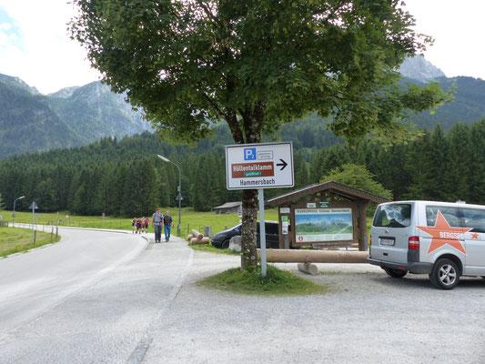 Parkplatz Hammersbach