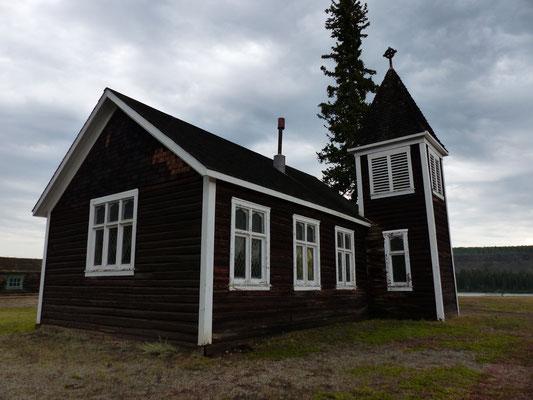 Kirche im Fort Selkirk, Yukon