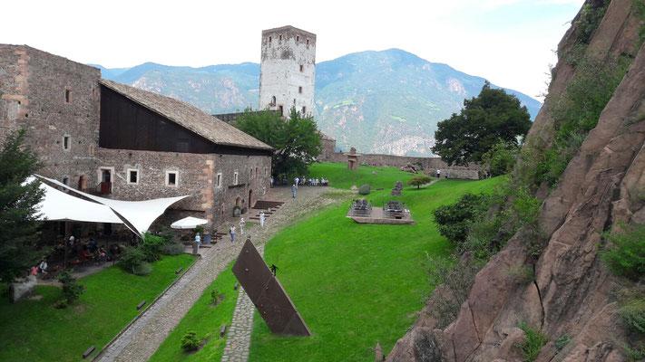 Messner-Mountain-Museum auf Schloss Sigmundskron.