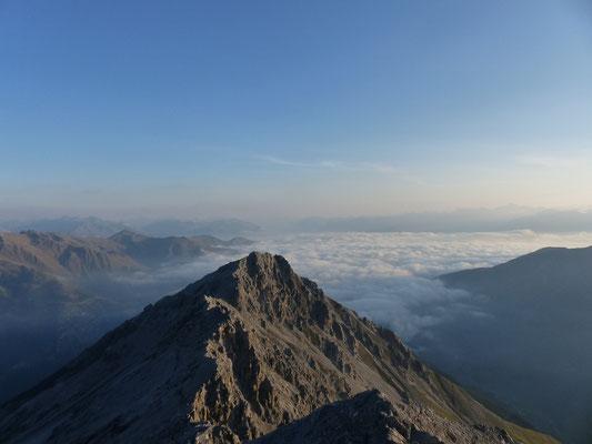 Morgenstimmung von der Payerhütte (3020m)