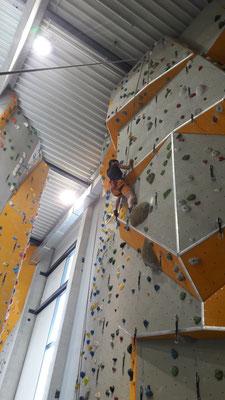 Sparkassendom -Kletterhalle in Ulm