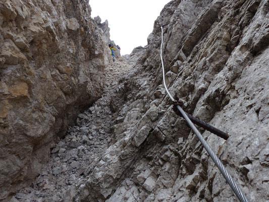 Klettersteig zum Kesselkogel
