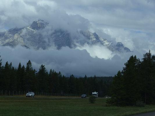 ... zu den canadischen Rocky Mountains