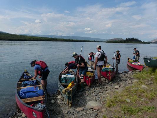 Yukon - einsetzen bei Mine Minto