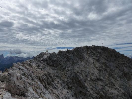 Gipfelgrat zum Kesselkogel