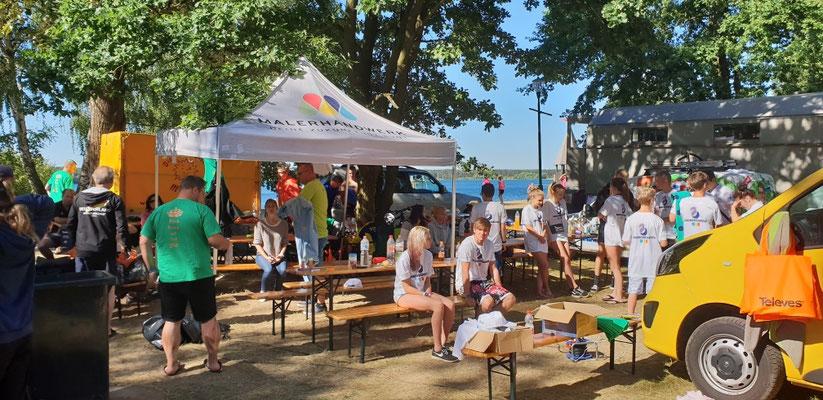 Drachenbootrennen Helenesee