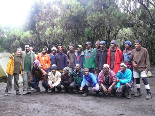 unser Kilimanscharoteam