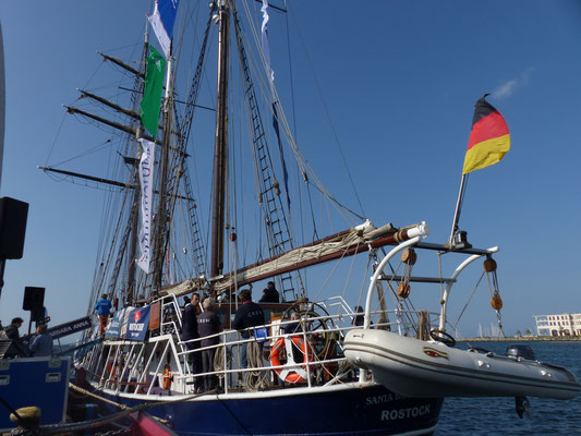 1. Port-Party 2018 nach Warnemünde