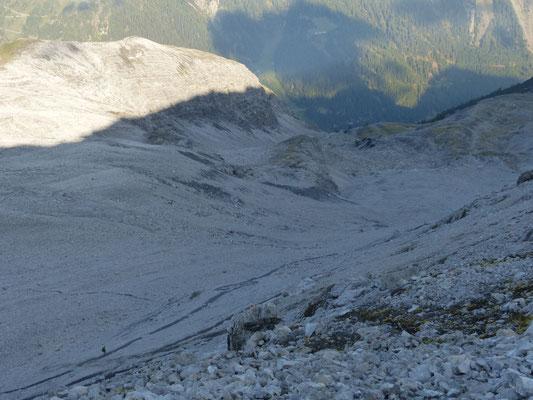 steiler Abstieg nach Trafoi