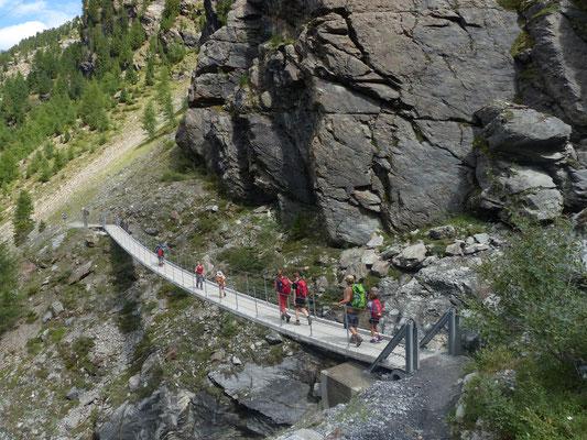 Hängebrücke über Sulden