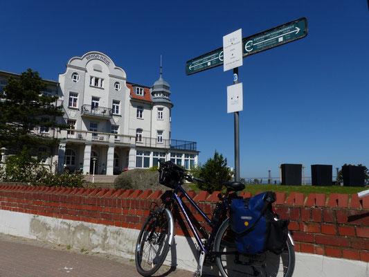 Fernwanderweg E9- Kontrollpunkt Kühlungsborn