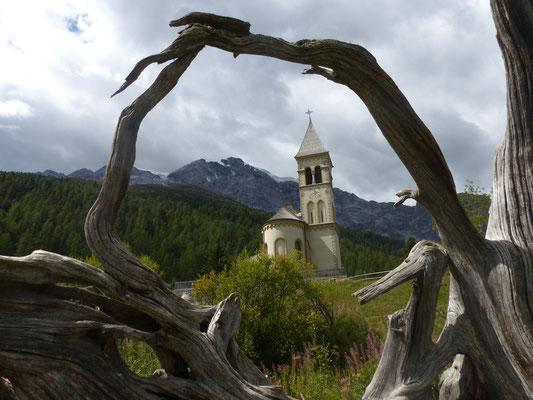 Kirche in Sulden, Südtirol