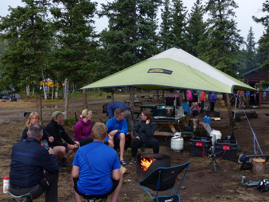 Campground Fort Selkirk, Yukon
