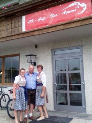 Okay-Cafe-Bar in Agums Prad am Stifslerjoch