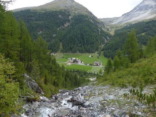Wanderung zur Hintergrathütte über Sulden