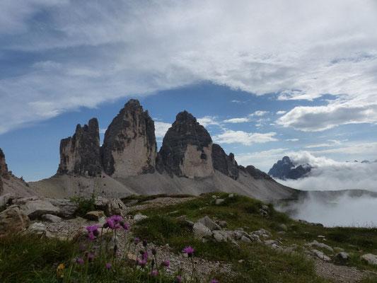 Die Drei Zinnen  Dolomiten