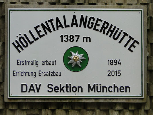 Höllentalangerhütte