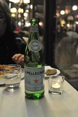 ビットリオ・エマヌエレ2世アーケード内レストランで