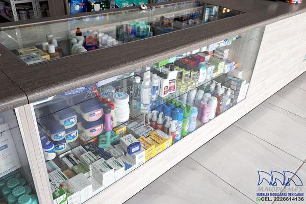 Vitrinas para farmacias