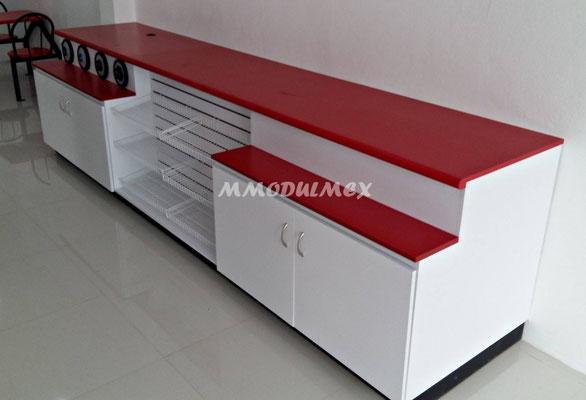 Muebles para fastfood