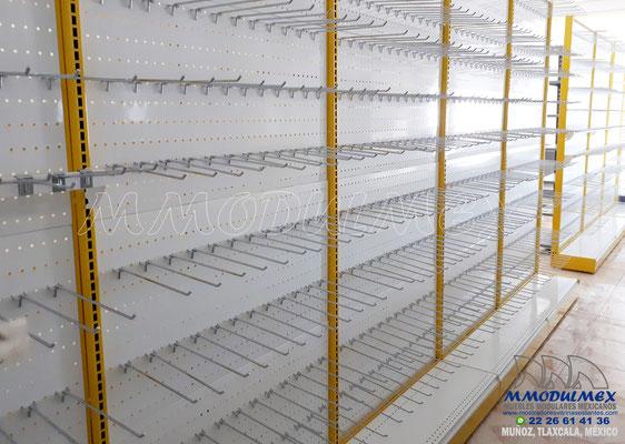 Góndolas metálicas para supermercados