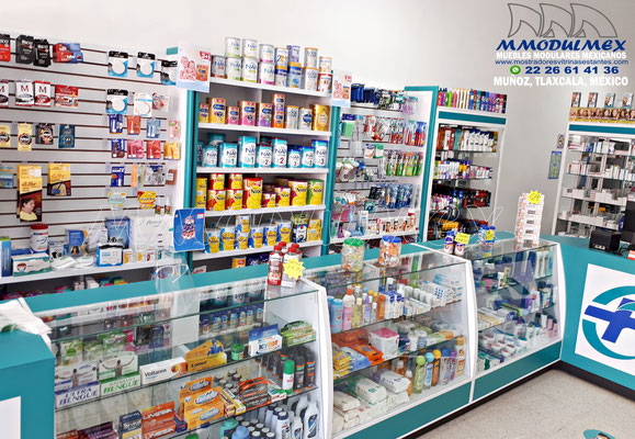 Vitrina para farmacia