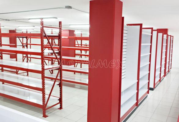 Muebles para farmacias, muebles para papelerías