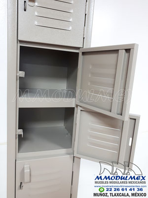 lockers de 8 puertas