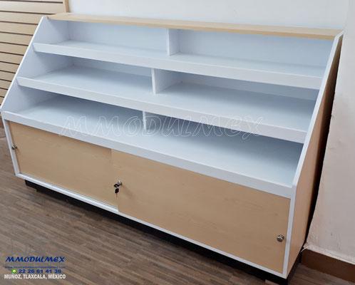 vitrina para farmacia, mostrador para farmacia, muebles para farmacia, aparadores para farmacia