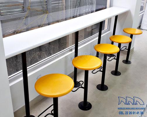 Bancos para restaurantes, mesas para restaurantes, sillas para restaurantes