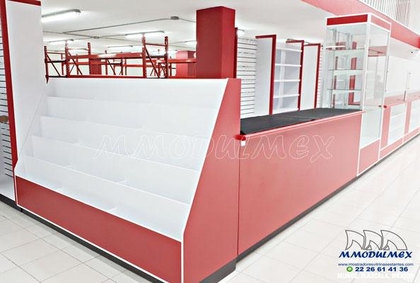 Muebles para farmacias y papelerías