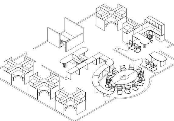 planos de oficinas