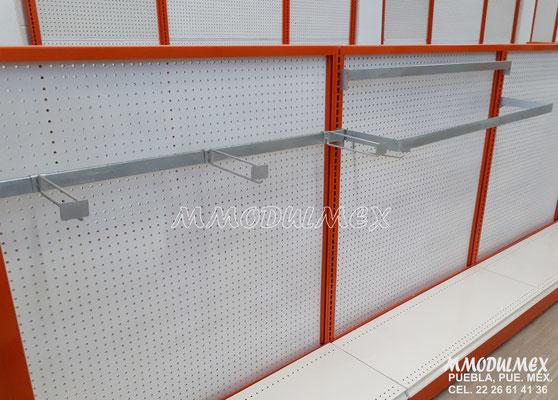 Góndolas metálicas, estantes para tiendas, estantería metálica, anaqueles para negocios