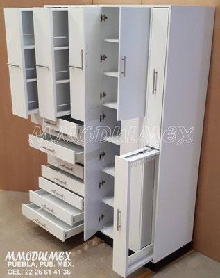 Mueble de farmacia para sueros y catéteres