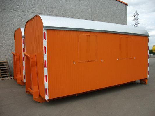 Knauss Bauwagen als Absetzer (Lisé et Fils)