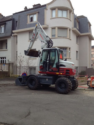 DEMO Tour mit Takeuchi TB 295 W