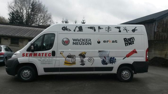 Ein neuer Lieferwagen, für uns !