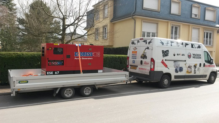 2 x Endress Stromerzeuger ESE 67--60 kVA (CDCL)