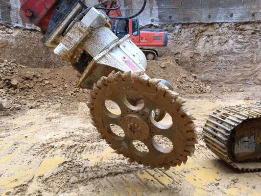 ERC 2000 + Rotato + Schneidrad 1600 mm (Entrapaulus)