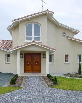 Maison neuve dans les Landes - Construction Bernard Lacaze et Fils