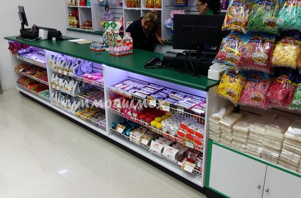 Mostradores dulceros
