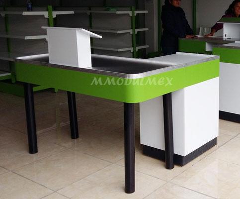 Muebles de caja para supermercado