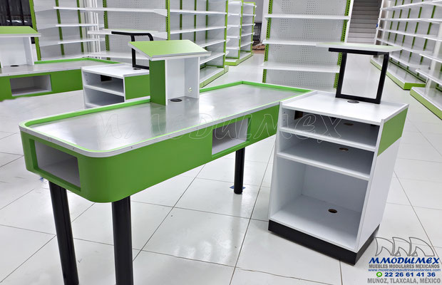 Góndolas metálicas para supermercado, Góndolas metálicas para minisuper, estantería metálica