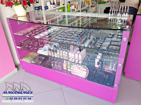 Vitrinas para joyería, vitrinas para boutique, vitrinas para papelerías, vitrinas para negocio, vitrinas modernas, vitrinas para farmacia