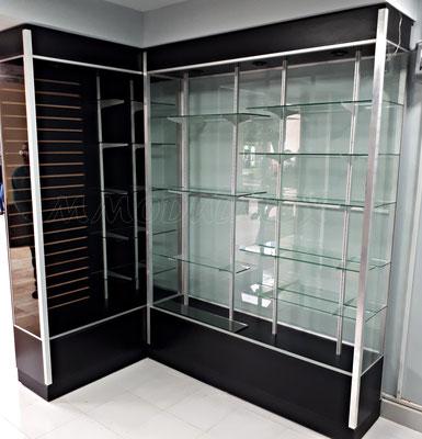Muebles para farmacia, vitrinas para farmacia, aparadores para farmacia, estantes para farmacia, cajoneras para farmacia